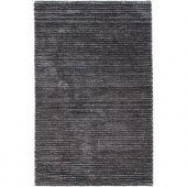 Chandra Ulrika Charcoal/Grey 7 ft. 9 in. x 10 ft. 6 in. Indoor Area Rug