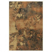 Kas Rugs Abstract View Brown/Black 2 ft. 2 in. x 3 ft. 7 in. Area Rug