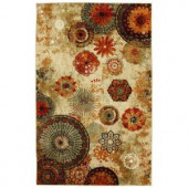 Mohawk Caravan Medallion Multi 8 ft. x 10 ft. Area Rug