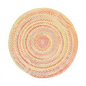 Capel Country Grove Buttercup 7 ft. 6 in. Round Area Rug