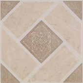 Armstrong Stylistik II 12 in. x 12 in. Jamesport Camel Vinyl Tiles (45-Pack)