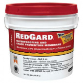 Custom Building Products RedGard Waterproofing and Crack Prevention Membrane 3-1/2 Gal.