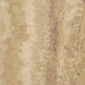 TrafficMASTER Allure Ultra Aegean Travertine Ivory Resilient Vinyl Flooring - 4 in. x 7 in. Take Home Sample