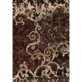 United Weavers Lima Red 7 ft. 10 in. x 10 ft. 6 in. Area Rug