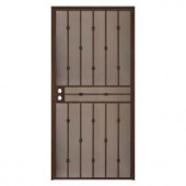 Unique Home Designs Cabo Bella 36 in. x 80 in. Copper Outswing Security Door