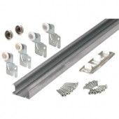 Prime-Line Bypass Closet Door Track Kit