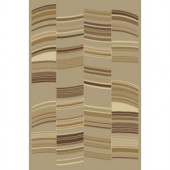United Weavers Overstock Quaser Taupe 5 ft. 3 in. x 7 ft. 6 in. Area Rug