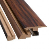 SimpleSolutions Lacquered Ebony 78-3/4 in. Length Four-in-One Molding Kit