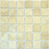 MS International 2 In. x 2 In. Chiaro Travertine Mosaic Floor & Wall Tile