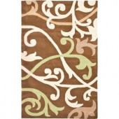 Safavieh Soho Brown/Multi 5 ft. x 8 ft. Area Rug