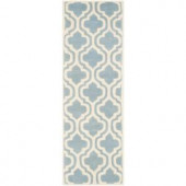 Safavieh Chatham Blue/Ivory 2.3 ft. x 7 ft. Runner