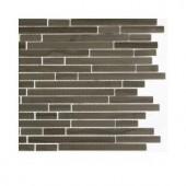 Splashback Tile Windsor Random Athens Grey Marble Floor and Wall Tile - 6 in. x 6 in. Tile Sample