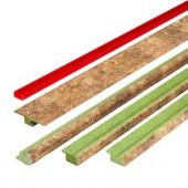 FasTrim Cottage Stone Moss 1.77 in. Wide x 78 in. Length Laminate 5-in-1 Molding