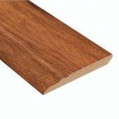 Home Legend High Gloss Natural Mahogany 12.7 mm Thick x 3-13/16 in. Wide x 94 in. Length Laminate Wall Base Molding