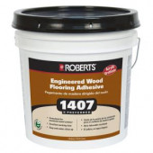 Roberts 1407 4-gal. Engineered Wood Glue Adhesive