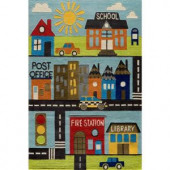 Momeni Caprice Collection Town 8 ft. x 10 ft. Area Rug