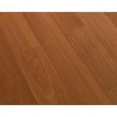 Dark Cherry Block Laminate Flooring - 5 in. x 7 in. Take Home Sample