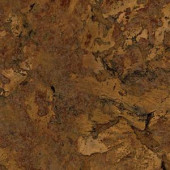 TrafficMASTER Allure Chandler Cork Dark Resilient Vinyl Plank Flooring - 4 in. x 4 in. Take Home Sample