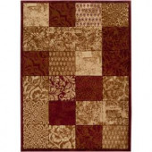 Artistic Weavers Sierra Burgundy 7 ft. 10 in. x 10 ft. 3 in. Area Rug