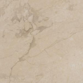 TrafficMASTER Allure Ultra Carrara Cream Resilient Vinyl Flooring - 4 in. x 7 in. Take Home Sample