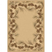 Balta US Whispering Pine Beige 9 ft. 2 in. x 11 ft. 11 in. Area Rug