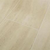 Hampton Bay Roman Tile Beige Laminate Flooring - 5 in. x 7 in. Take Home Sample