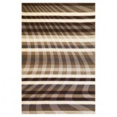 Kas Rugs Let's Move Charcoal 8 ft. x 10 ft. Area Rug