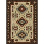 Shaw Living El Dorado Multi 7 ft. 10 in. x 10 ft. 10 in. Area Rug