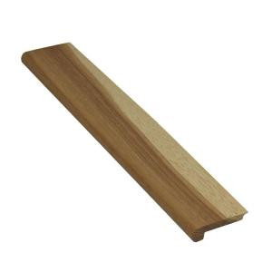 Ludaire Speciality Tile Hickory Natural 1/2 in. Thick x 2-3/4 in. Width x 78 in. Length Hardwood Stair Nose Molding