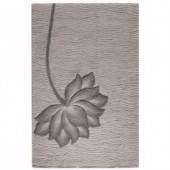 Home Decorators Collection Blooms Gray and Gray 9 ft. 6 in. x 13 ft. 6 in. Area Rug
