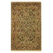 Home Decorators Collection Chantilly Antique Green 8 ft. x 11 ft. Area Rug