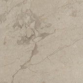 TrafficMASTER Allure Ultra Carrara Oyster Resilient Vinyl Flooring - 4 in. x 7 in. Take Home Sample