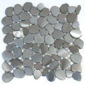 Solistone Metal Freeform Astro 11 in. x 11 in. Accent Metal Mosaic Wall Tile (8.4 sq. ft./Case)