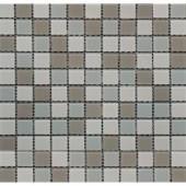 MS International Majestic Ocean 12 in. x 12 in. Beige Glass Mesh-Mounted Mosaic Tile