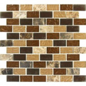 MS International Sonoma Blend 12 in. x 12 in. Glass/Stone Mesh-Mounted Mosaic Tile