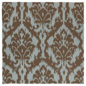 Kaleen Habitat Sea Spray Mocha 5 ft. 9 in. x 5 ft. 9 in. Square Area Rug