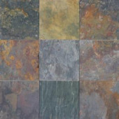 MS International Multi Classic 12 In. x 12 In. Gauged Slate Floor & Wall Tile