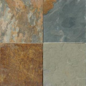 MS International 12 in. x 12 in. Three Rivers Gold Slate Floor and Wall Tile