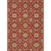 Loloi Rugs Fairfield Life Style Collection Persimmon 7 ft. 6 in. x 9 ft. 6 in. Area Rug