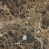 MS International 12 in. x 12 in. Emperador Dark Marble Floor and Wall Tile