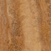 TrafficMASTER Allure Ultra Aegean Travertine Noche Resilient Vinyl Flooring - 4 in. x 7 in. Take Home Sample