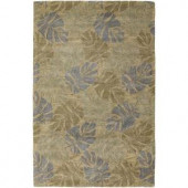 Chandra Seasons Blue 5 ft. x 7 ft. 6 in. Indoor Area Rug