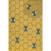 Momeni Caprice Collection Honeycomb 5 ft. x 7 ft. Area Rug