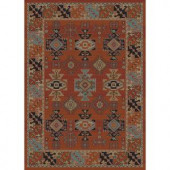 Home Dynamix Classic Red 7 ft. 8 in. x 10 ft. 2 in. Area Rug