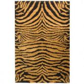 Safavieh Soho Black/Brown 3.5 ft. x 5.5 ft. Area Rug