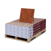 Hampton Bay High Gloss Perry Hickory 8mm Thick x 5 in. Wide x 47-3/4 in. Length Laminate Flooring (318.24 sq. ft./pallet)