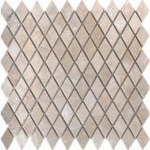MS International Colisseum 1 in. x 1 in. Rhomboid Mosaic Tumbled Travertine Floor & Wall Tile
