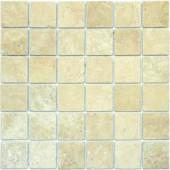 MS International 2 In. x 2 In. Chiaro Travertine Mosaic Floor & Wall Tile