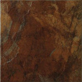 MARAZZI Imperial Slate 12 in. x 12 in. Rust Ceramic Floor and Wall Tile (14.53 sq. ft./case)