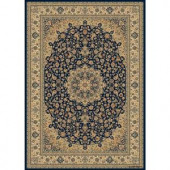 Balta US Classical Manor Blue 5 ft. 3 in. x 7 ft. 5 in. Area Rug